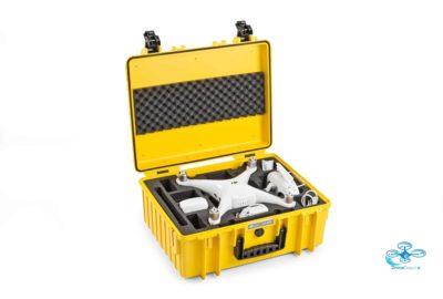 B&W 6000 - Flightcase DJI Phantom 4 - dronedepot.be