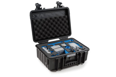 B&W Flightcase type 4000 DJI Mavic Air 2 met Smart Controller - Zwart