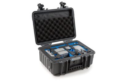 B&W Flightcase type 4000 DJI Mavic Air 2 met Smart Controller - Donker Grijs